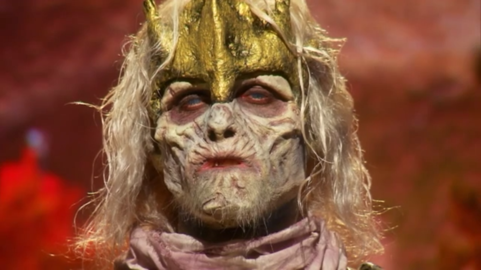 A close look at Ben Ploughman's finished makeup