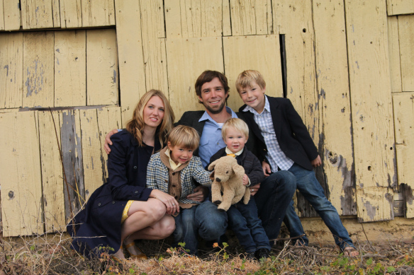 Ben Riddering and family