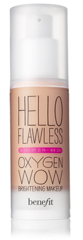 Benfit Cosmetics Hello Flawless Oxygen Wow Liquid Foundation (Review)