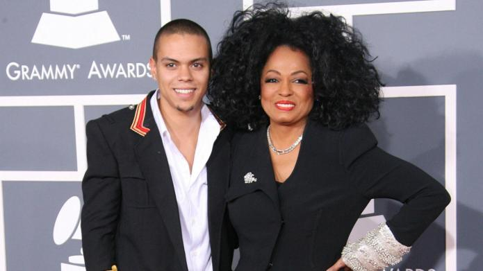 Diana Ross gushes about her son's