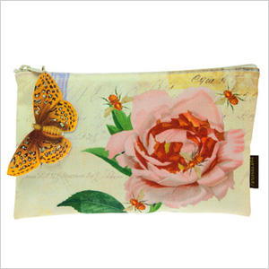 TokyoMilk Bee Blossom cosmetic bag