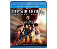 Captain America: The First Avenger Blu-ray disc combo