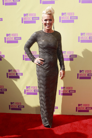 Pink best dressed at the VMAs