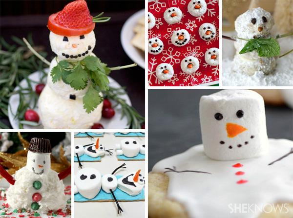 6 Snowman-inspired treats