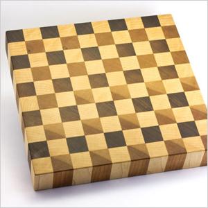 Checkerboard butcher block