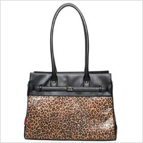 Bark-n-Bag Monaco Pet Tote in Leopard Print