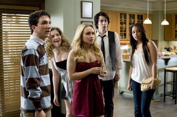 Hayden is a little exposed in Beth Cooper