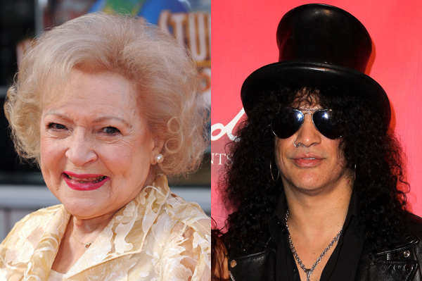 Betty White and Slash team up