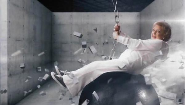 Betty White: Wrecking Ball video