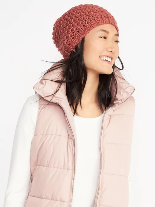 Must-Have Fall Hats: Honeycomb-Knit Beanie | Fall Fashion Trends