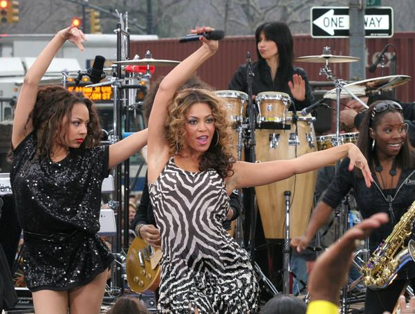 Beyonce on The Today Show
