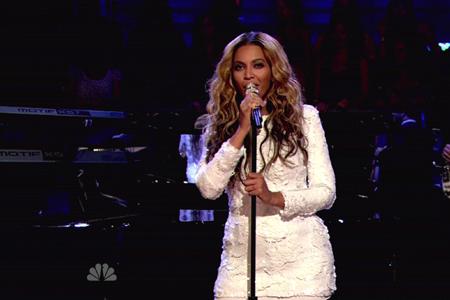 Beyonce on Jimmy Fallon July 2011