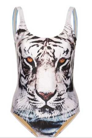 Beyonce's Tiger swimsuit