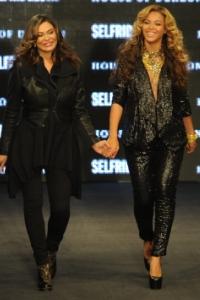 Beyonce & Tina Knowles