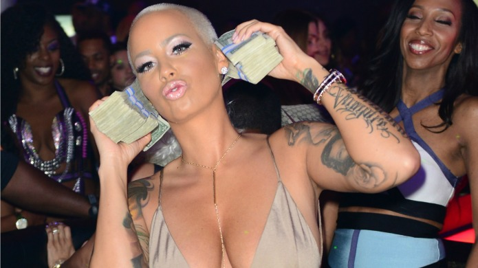 Amber Rose's feud with the Kardashians,