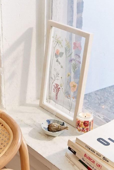 Pressed Floral Frame