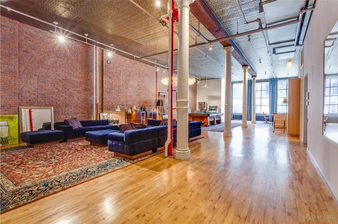 Adam Levine And Behati Prinsloo Soho loft
