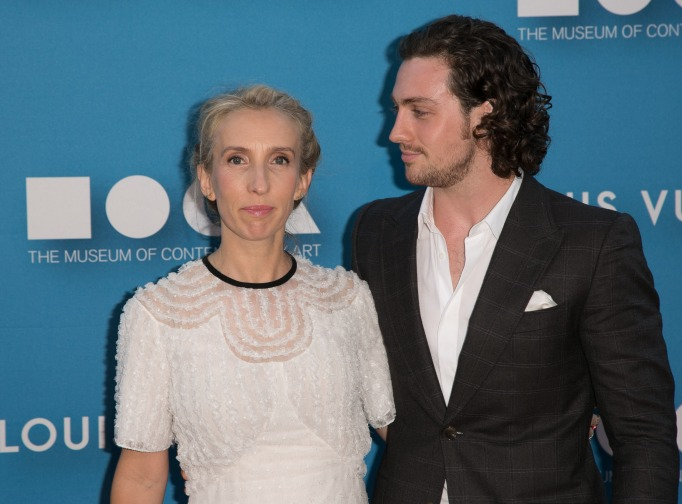 Sam and Aaron Taylor-Johnson