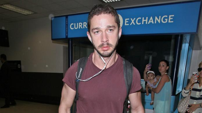 Uh-oh: Shia LaBeouf detained by police