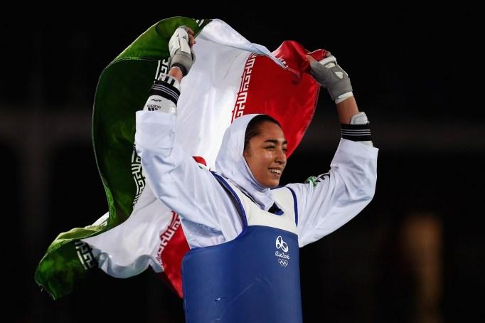 Kimia Alizadeh Zenoorin Olympics 2016
