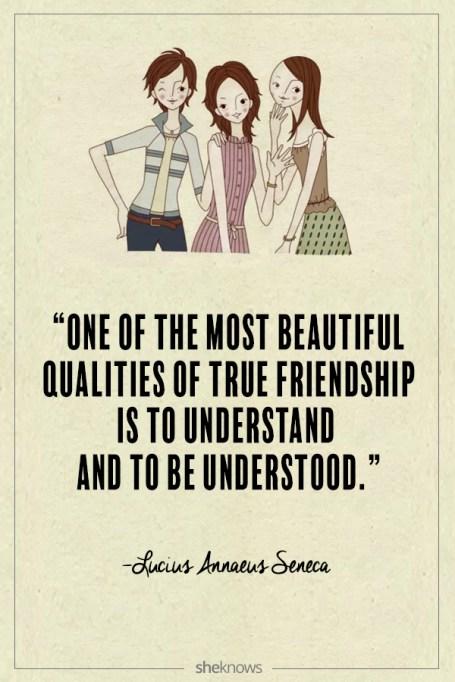 Lucius Annaeus Seneca quote about friendship