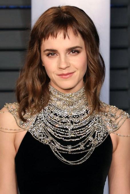 Emma Watson 2018 Vanity Fair Oscar Party
