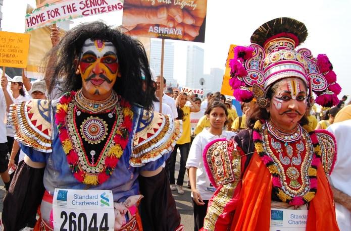 12 Marathoners in crazy-fun costumes