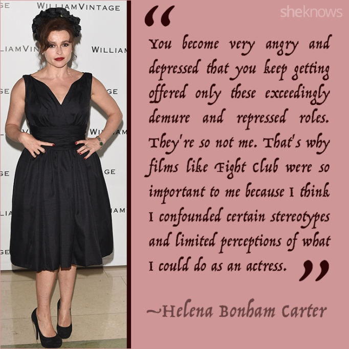 Helena Bonham Carter quote