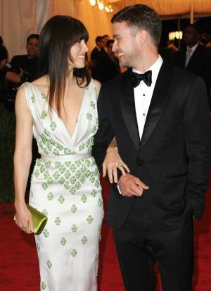 Jessica Biel Justin Timberlake wed