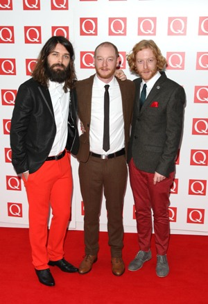 Members of Biffy Clyro