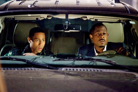 Brandon T. Jackson and Martin Lawrence in Big Mommas Like Father, Like Son