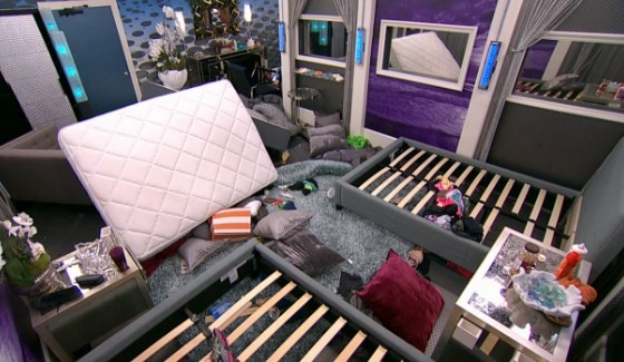 Big Brother 17 trashed house