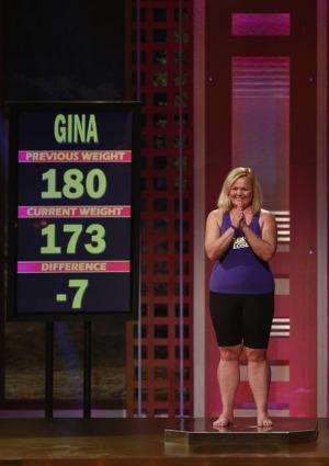 Biggest Loser weigh-in Gina McDonald