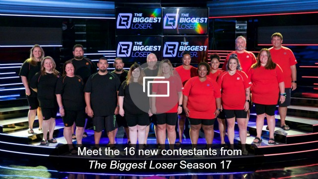Biggest Loser season 17 contestants slideshow