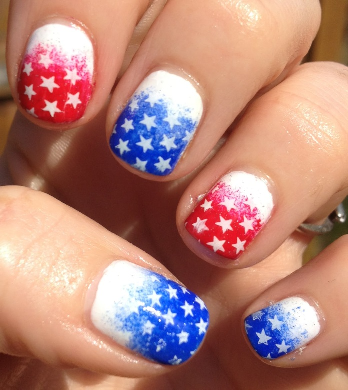 17 patriotic manicures that totally nail