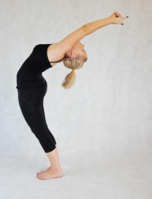 Bikram yoga stretch