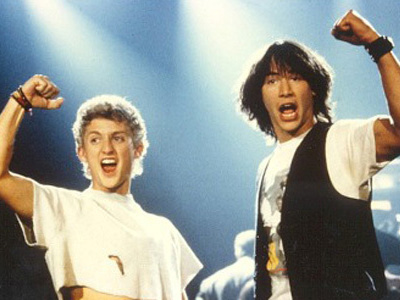 Keanu Reeves - Bill and Ted