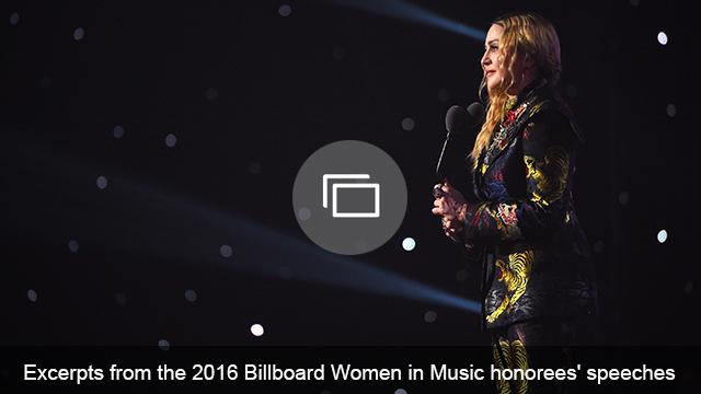 Madonna Billboard Women in Music