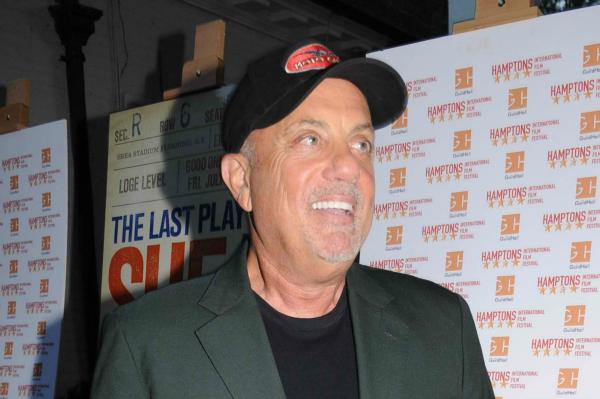 Billy Joel in the Hamptons