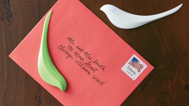 birdie letter opener