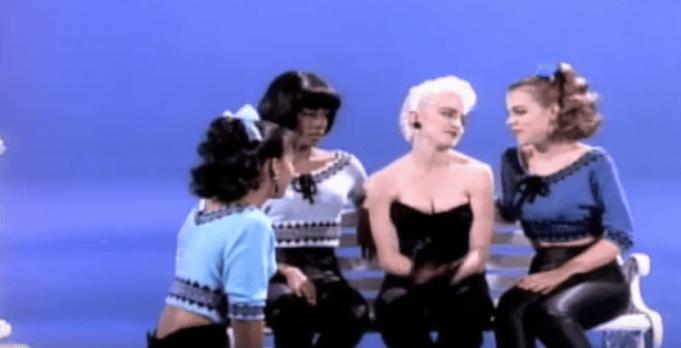 """Madonna in """"True Blue"""""""