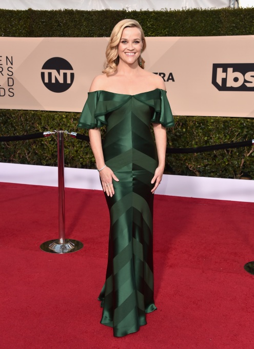 2018 SAG Awards Best Dressed: Reese Witherspoon