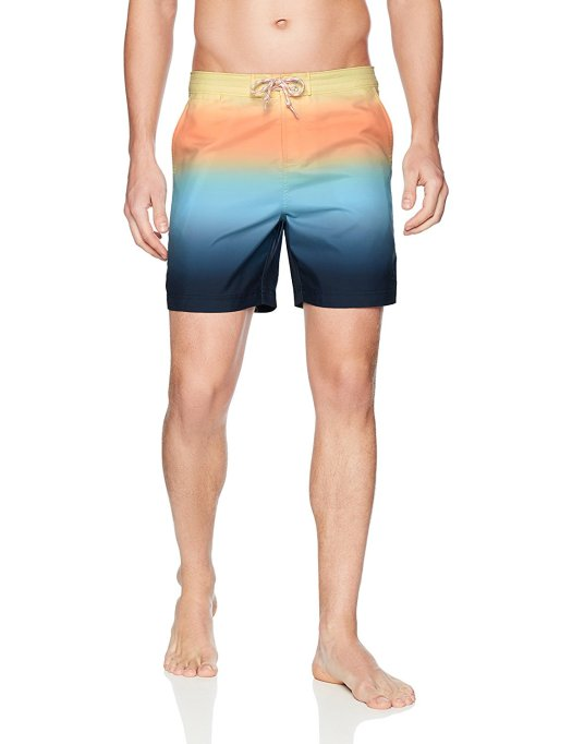 Original Penguin Men's Gradient Fixed Volley Swim Short