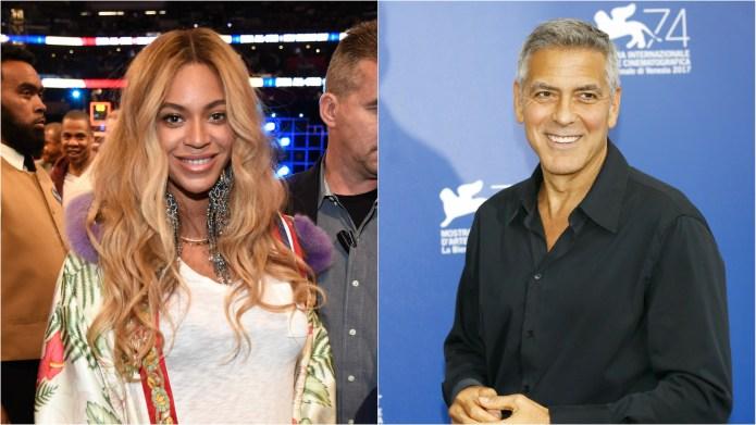 Beyoncé & George Clooney Are Teaming