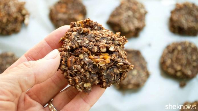 Chocolate peanut butter pretzel cookies you