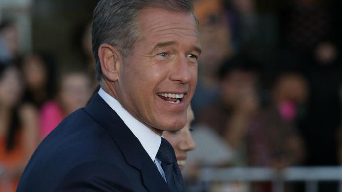Brian Williams has a lot to
