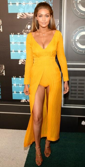 Gigi Hadid at 2015 VMAs