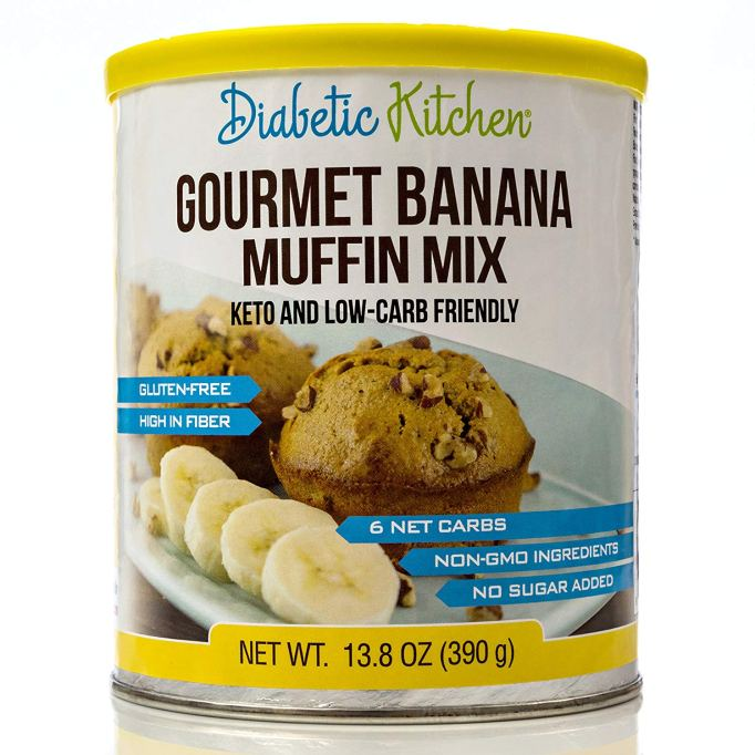 Diabetic Kitchen Banana Muffin Mix