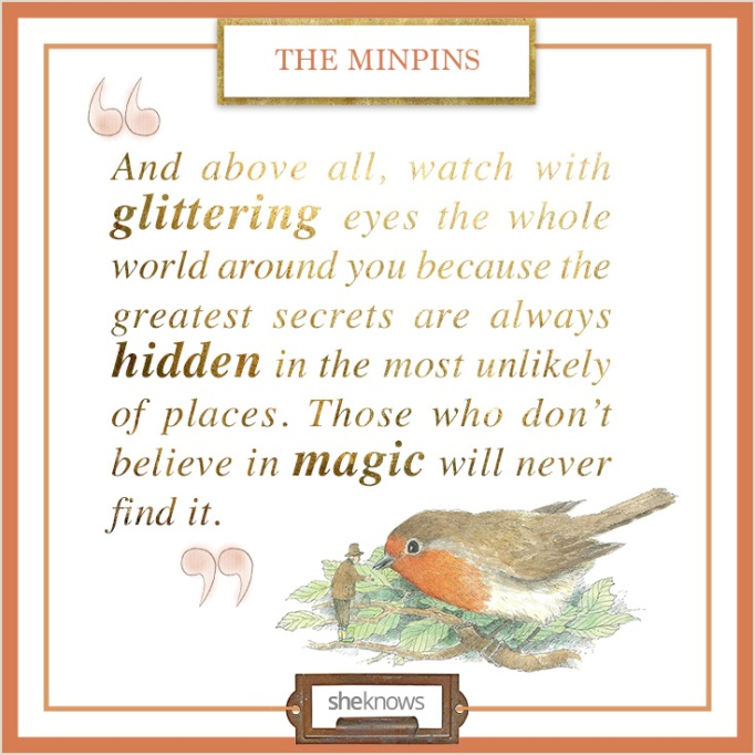 """Quote from """"The Minpins"""""""