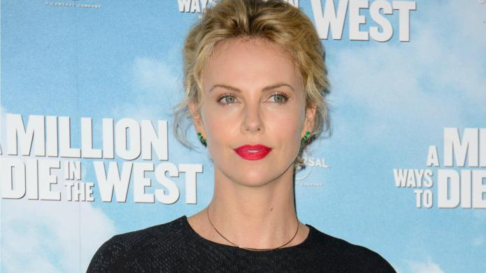 "Charlize Theron gushes about beau: ""It's"